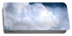 Clouds And Ice Portable Battery Charger