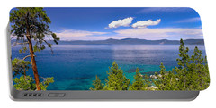 Clouds And Silence - Lake Tahoe Portable Battery Charger