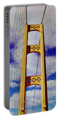 Portable Battery Charger featuring the photograph Clouds by Daniel Thompson