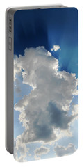 Clouds In The Sun Portable Battery Charger