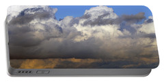 Clouds Over Portsmouth Portable Battery Charger