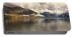 Clouds Over Wakatipu #1 Portable Battery Charger by Stuart Litoff
