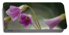 Portable Battery Charger featuring the photograph Clover Bells by Greg Allore