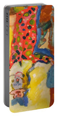 Clown Girl Portable Battery Charger
