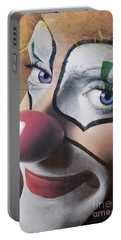 Clown Mural Portable Battery Charger by Bob Christopher