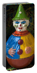 Clown Toy In Box Portable Battery Charger