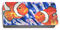 Clownfish Couple Portable Battery Charger
