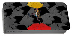 Clowning On Umbrellas 01 - A11 Portable Battery Charger
