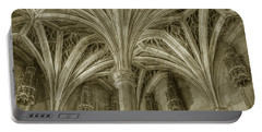 Cluny Museum Ceiling Detail Portable Battery Charger
