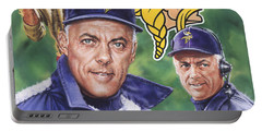 Coach Bud Grant Portable Battery Charger