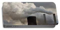 Coal Power Station Blasting Away Portable Battery Charger