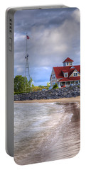 Coast Guard Station In Muskegon Portable Battery Charger