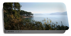 Portable Battery Charger featuring the photograph Coast by Tracey Harrington-Simpson