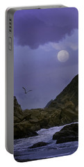 Coastal Moods Moonglo Portable Battery Charger by Diane Schuster