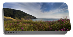 Coastal Wildflowers Of Oregon Portable Battery Charger