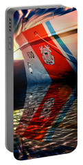 Portable Battery Charger featuring the photograph Coast Guard Uscg Alert Wmec-630 by Aaron Berg