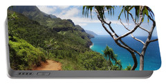 Coastline Of Kauai  Portable Battery Charger