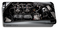 Portable Battery Charger featuring the photograph Cobra Engine by Matt Malloy