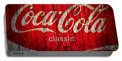 Coca Cola Barn Portable Battery Charger