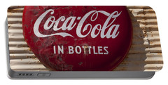 Coca Cola Sign   #0636 Portable Battery Charger