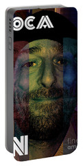 Portable Battery Charger featuring the photograph Coca In  One by Sir Josef - Social Critic - ART