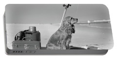 Cocker Spaniel Dog Standing Guard Portable Battery Charger