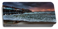 Portable Battery Charger featuring the photograph Cocoa Sunrise by Steven Reed
