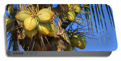 Portable Battery Charger featuring the photograph Coconut 2 by Teresa Zieba