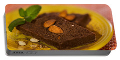 Coconut Almond Squares Portable Battery Charger