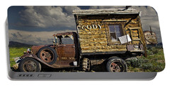 Cody Wyoming Truck Signpost Portable Battery Charger