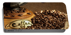 Coffee Grinder With Beans Portable Battery Charger