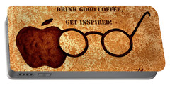 Coffee Lovers Quote 2 Portable Battery Charger