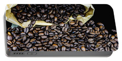 Coffee Unmilled  Portable Battery Charger