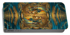 Portable Battery Charger featuring the digital art Coherence - Abstract Art By Giada Rossi by Giada Rossi