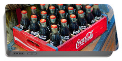 Coke Case Portable Battery Charger by David Lee Thompson