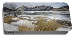 Cold Landscapes Portable Battery Charger