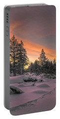 Cold Morning Portable Battery Charger