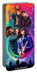 Coldplay Mylo Xyloto Portable Battery Charger