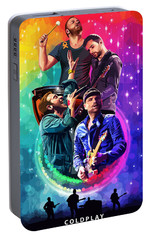 Coldplay Mylo Xyloto Portable Battery Charger by FHT Designs