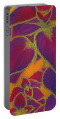 Coleus Gone Wild Portable Battery Charger