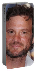 Colin Firth Portrait Portable Battery Charger