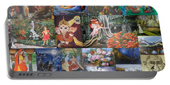 Collection Of Paintings Portable Battery Charger