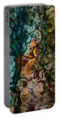 Color Abstraction Xvi Portable Battery Charger