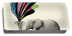Color Burst Portable Battery Charger by Eric Fan