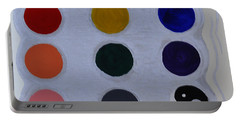 Color From The Series The Elements And Principles Of Art Portable Battery Charger