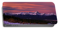 Color Of Dawn Portable Battery Charger by Jeremy Rhoades
