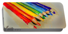 Color Pencils Portable Battery Charger