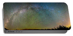Colorado Indian Peaks Milky Way Panorama Portable Battery Charger