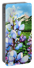 Colorado Summer Blues Close-up Portable Battery Charger