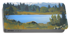 Colorado Mountains Portable Battery Charger
